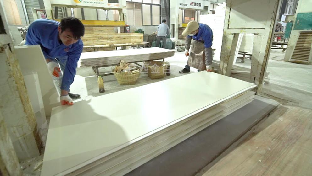 钢质防火门生产流程