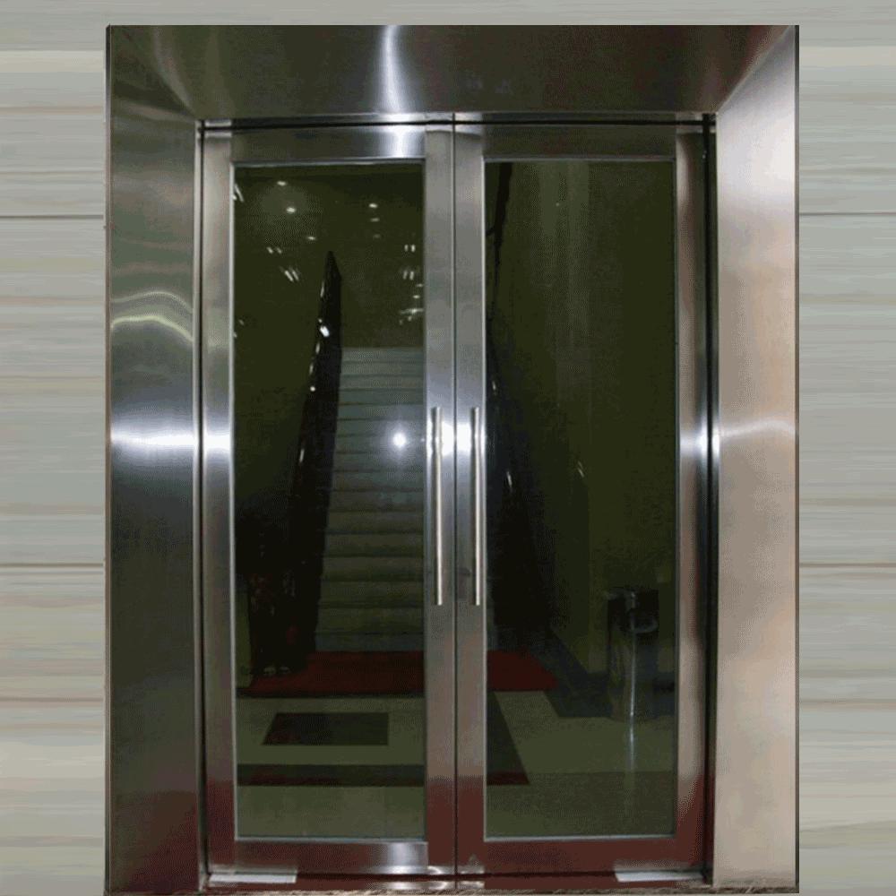 高档不锈钢304防火玻璃门甲级
