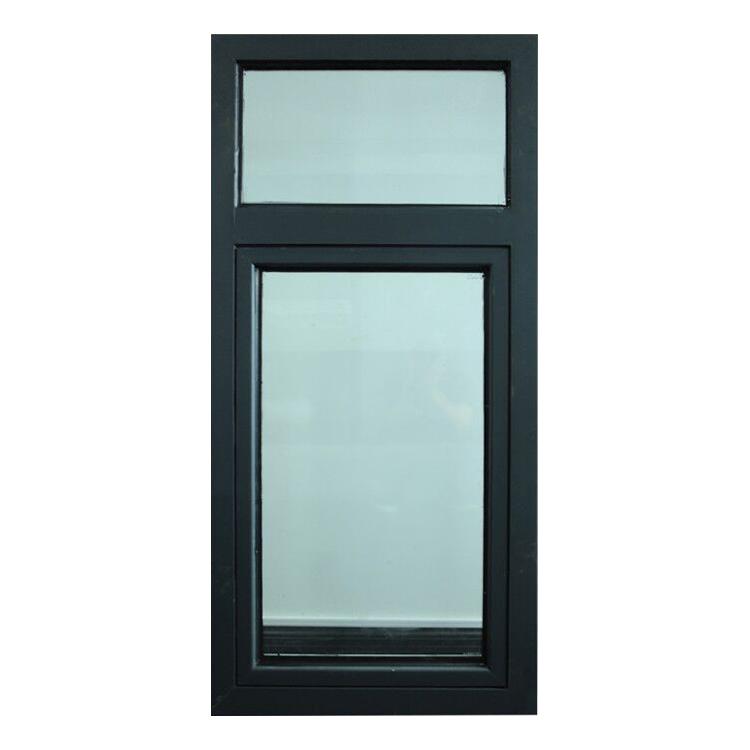 钢质喷粉黑色防火窗固定式包安装提供消防验收资料